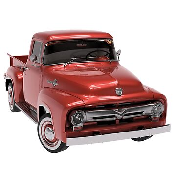 ★ Ford F100 1956 by cadcamcaefea