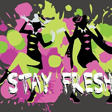 Splatfest Explosion Girls - Stay Fresh  by AquaMoon