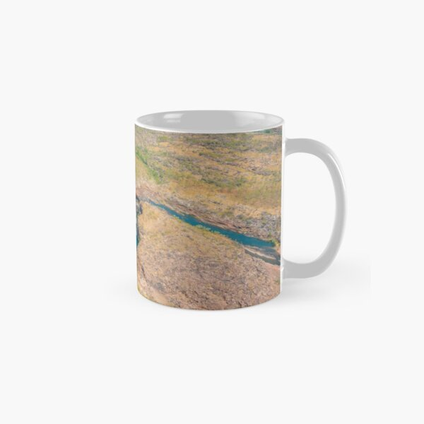 Mitchell Falls from the air Classic Mug