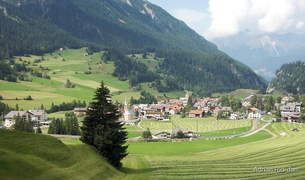 Filsur, Switzerland by Adrian Riordan