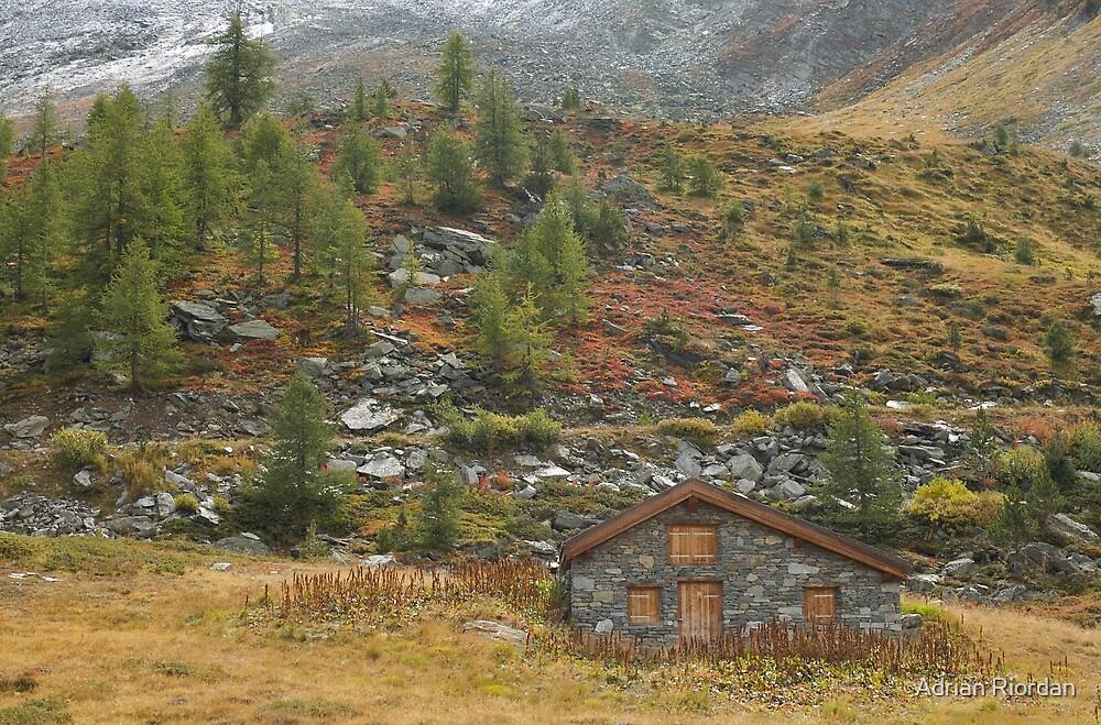 Autumn Colours; Grunsee, Switzerland by Adrian Riordan