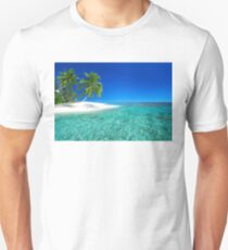 Postcard from the Anse Lazio beach - Praslin island, Seychelles Unisex T-Shirt