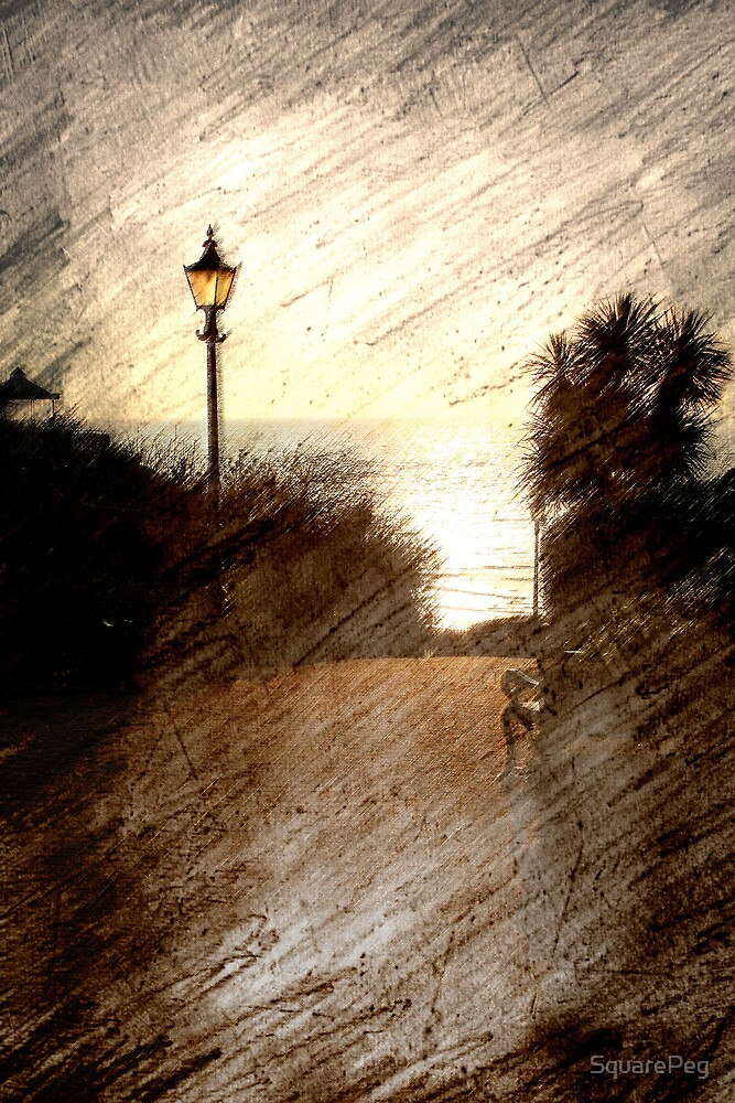 A Lampost in Tenby by SquarePeg