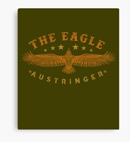 Eagle Austringer's Shirts and GIfts for Falconers Who Fly Eagles in Falconry Canvas Print