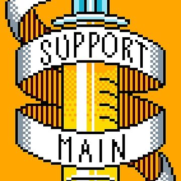 Support Main Pixelized by JessicaAmber