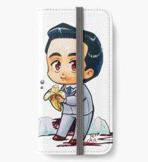 Moriarty eats a banana iPhone Wallet/Case/Skin