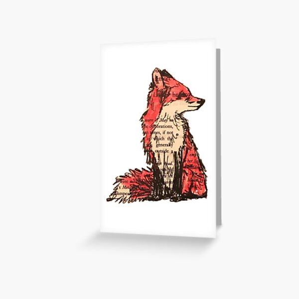 Fantastic Mr. Fox Greeting Card