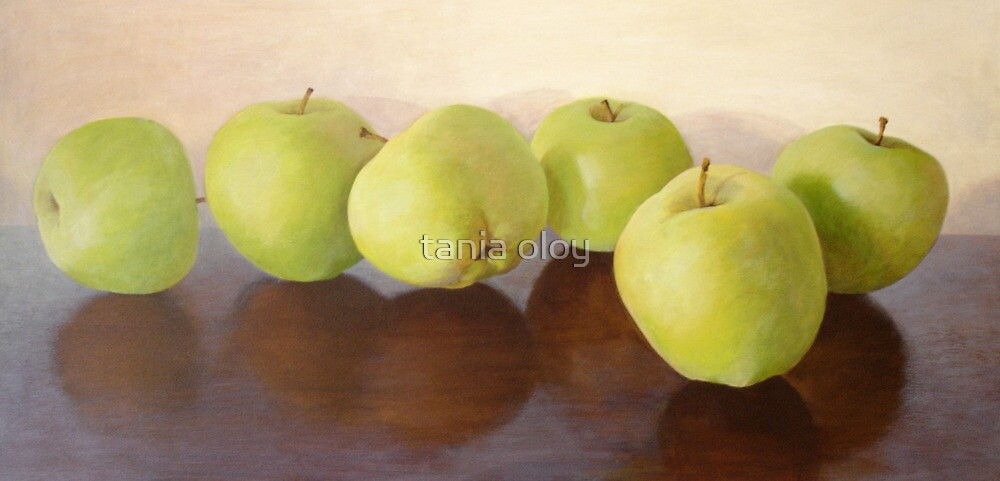 Apples Green  by tania oloy