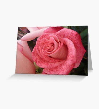 Speckled Rose Greeting Card