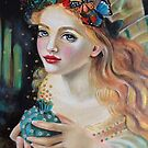 Fairy Dust, Kim Turner Art, Original Art by KimTurner