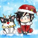 Xmas Zwei and Ruby by AG Nonsuch