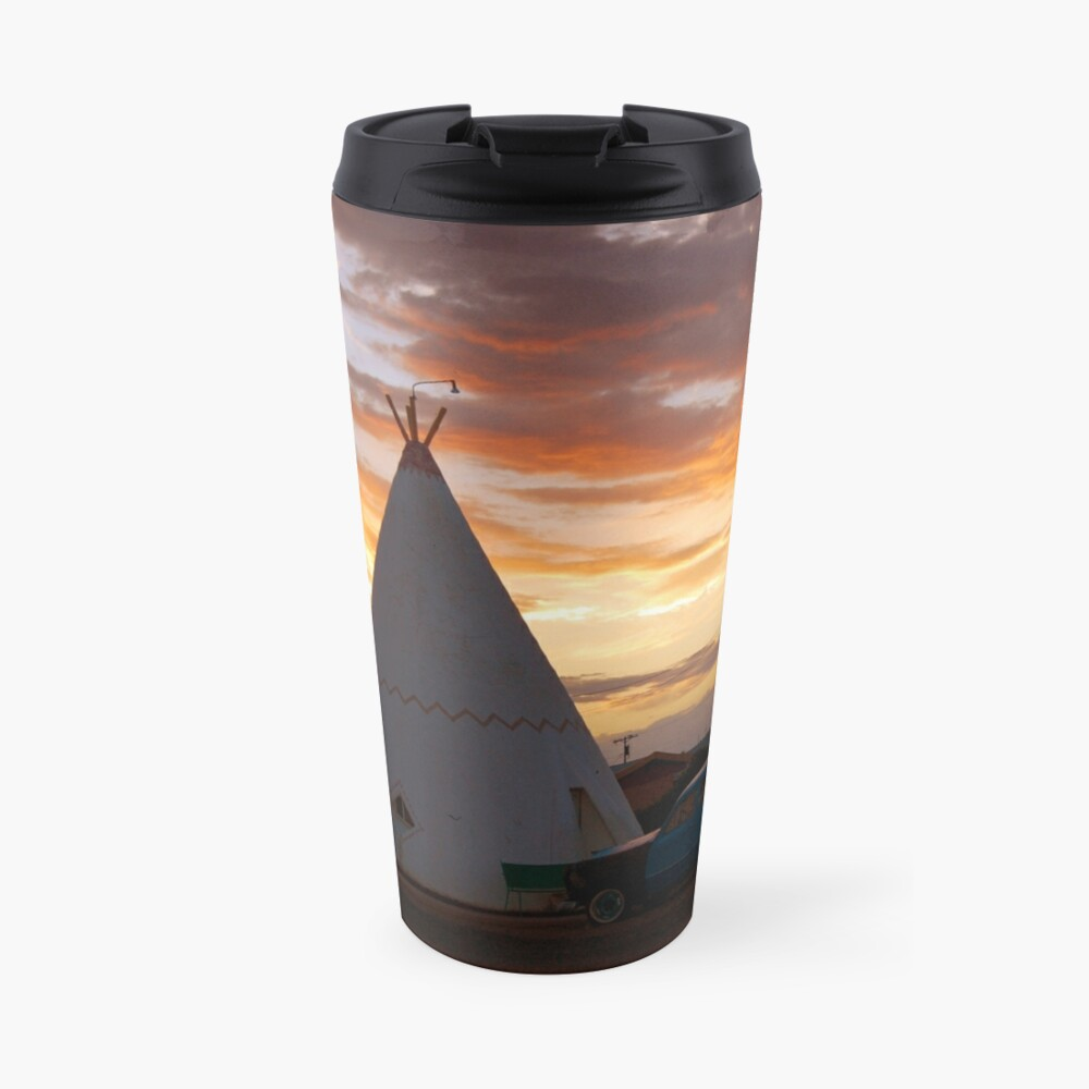 Route 66 Accomodations Travel Mug