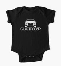 RS3 QUATTRO Liebe Baby Body Kurzarm