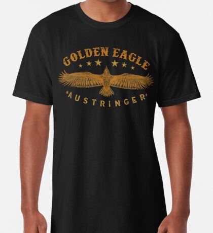 Eagle Austringer's Shirts and GIfts for Falconers Who Fly Golden Eagles in Falconry Long T-Shirt