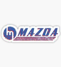 Vintage Mazda Logo Sticker