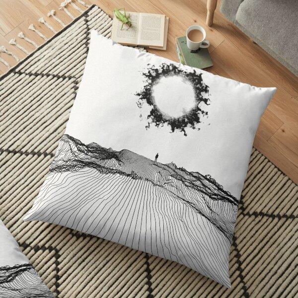 Strange and unprepared Floor Pillow