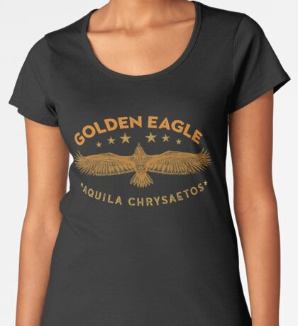 Eagle Austringer's Shirts and GIfts for Falconers Who Fly Eagles in Falconry Women's Premium T-Shirt