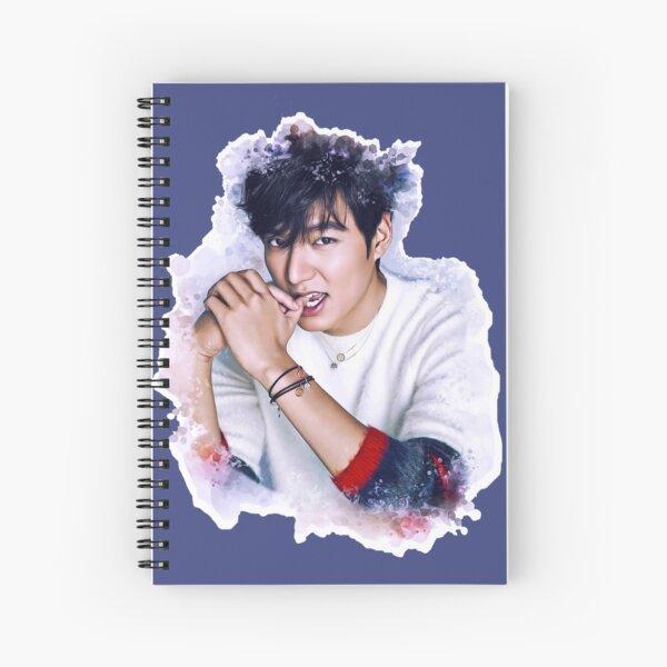 Lee Min Ho Spiral Notebook