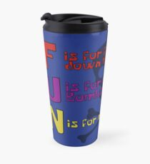 F.U.N Song (Plankton Version) - Spongebob Travel Mug