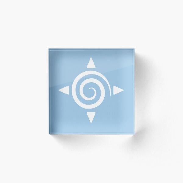 Krystal Spiral Acrylic Block
