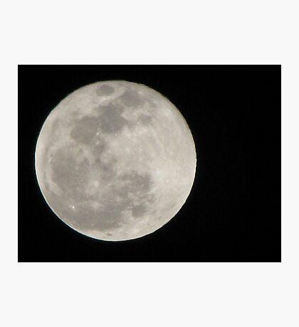New Year Blue Moon Photographic Print