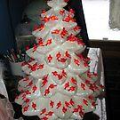 Cardinal tree by Jeannie Matthews