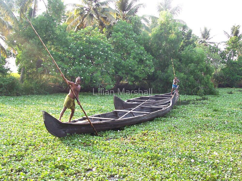 life on the backwaters of Kerala by Lilian Marshall