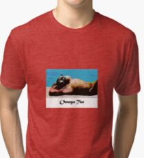 Orangutan Tanning Tri-blend T-Shirt