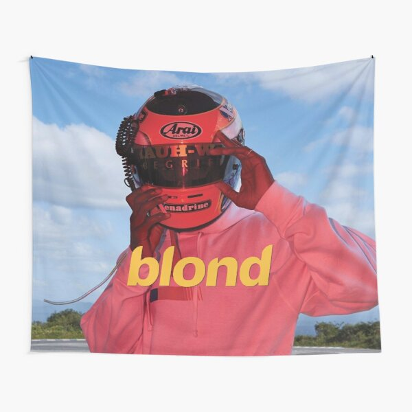 Blond Racing Tapestry