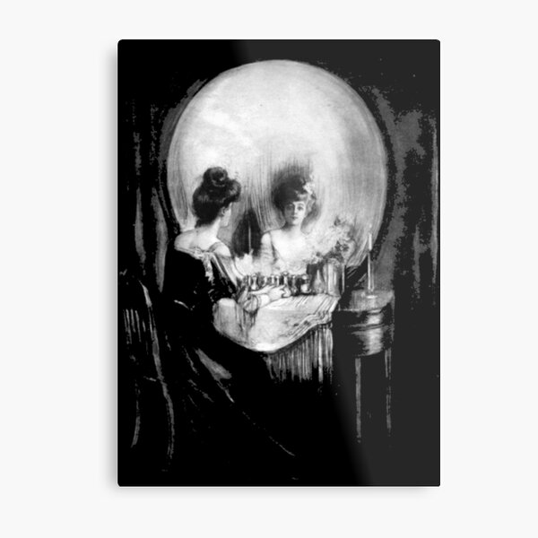 All is Vanity Metal Print
