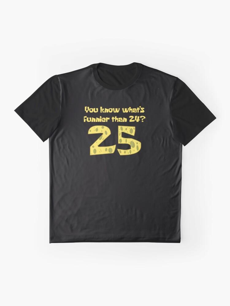 Alternative Ansicht von 25 - Spongebob Grafik T-Shirt