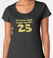 25 - Spongebob Premium Rundhals-Shirt