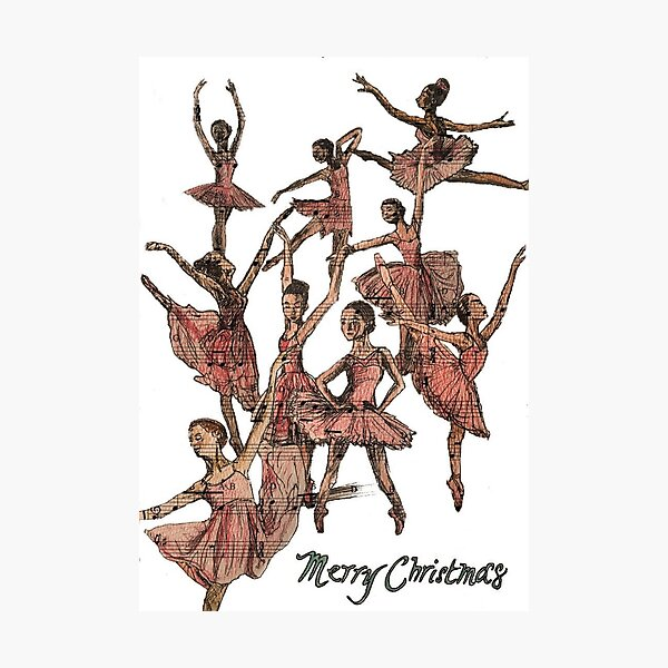 Nine Ladies Dancing Photographic Print
