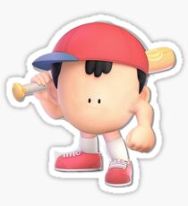 Ness Smash Ultimate Stickers | Redbubble