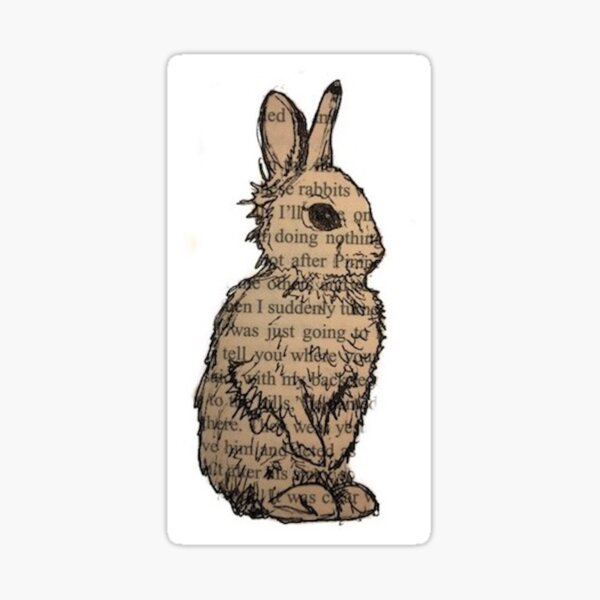 Watership Down Sticker