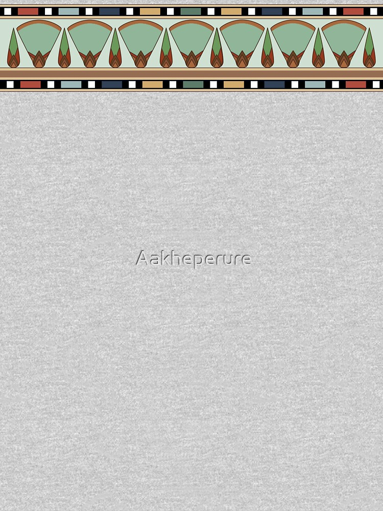 Papyrus frieze by Aakheperure