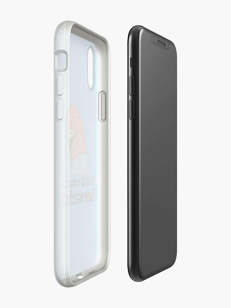 Vista alternativa de Vinilos y fundas para iPhone Esta es una carga de lapas - Bob Esponja