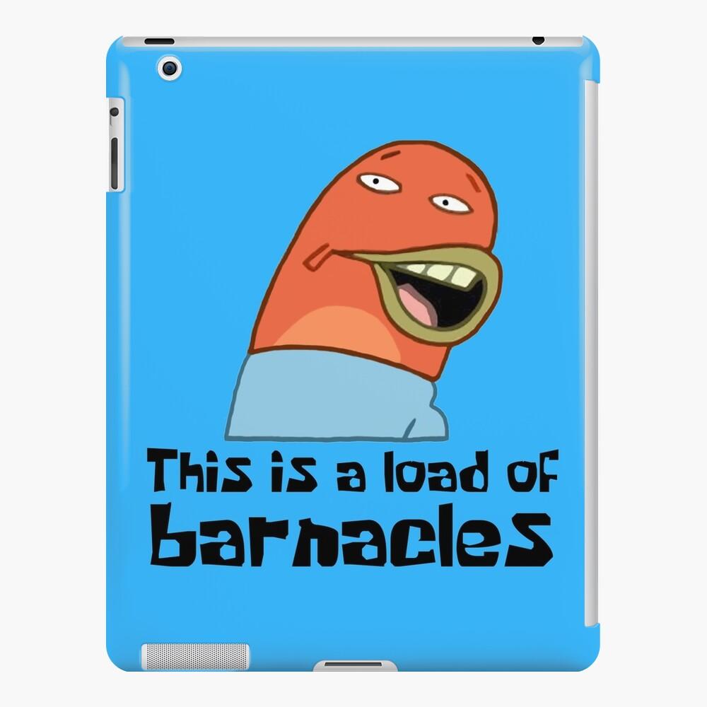Esta es una carga de lapas - Bob Esponja Funda y vinilo para iPad