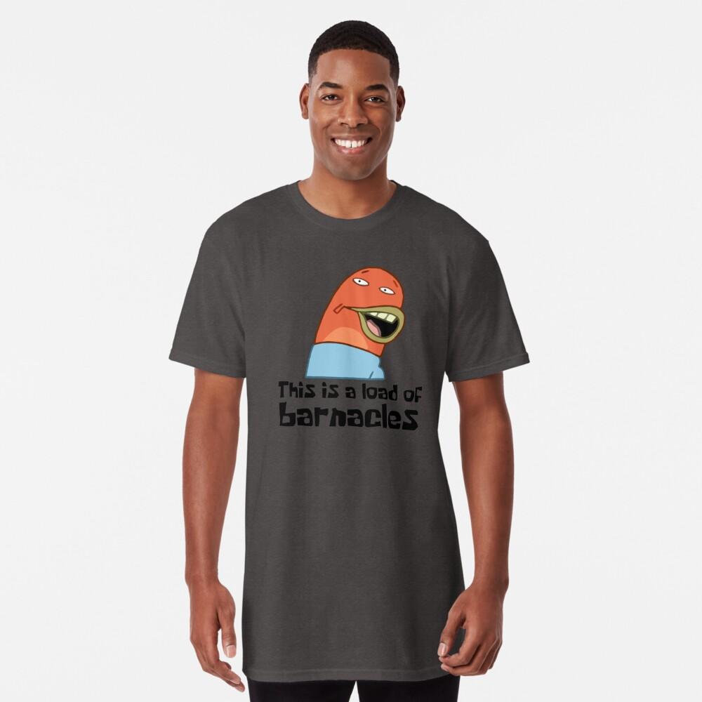 Esta es una carga de lapas - Bob Esponja Camiseta larga