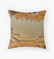Snake rising Throw Pillow