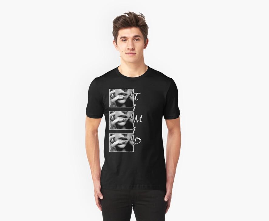 Timid T-Shirt GirlNoirNextDoor.com by gnnextdoor