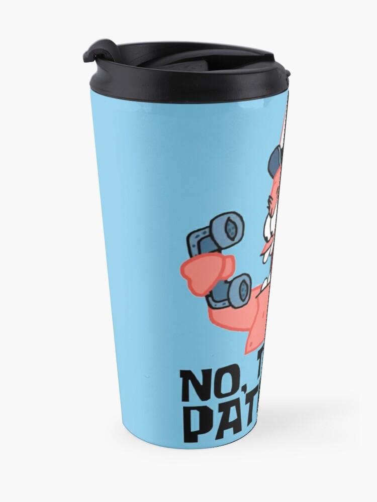 Alternate view of No, This Is Patrick! - Spongebob Travel Mug