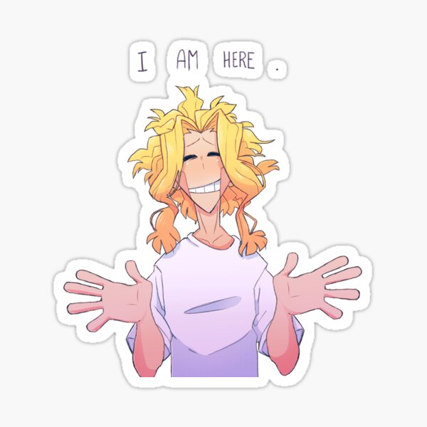 I Am Here/Watashi Ga Kita - Toshinori Yagi Sticker