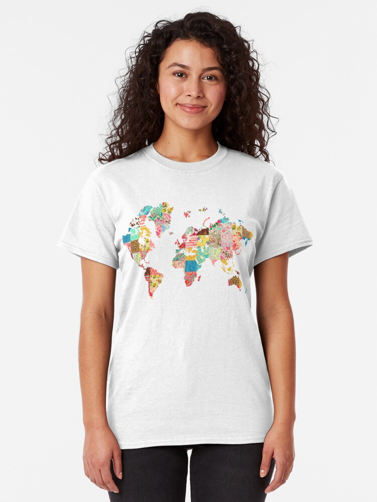 Vista alternativa de Camiseta clásica Ser un explorador del mundo