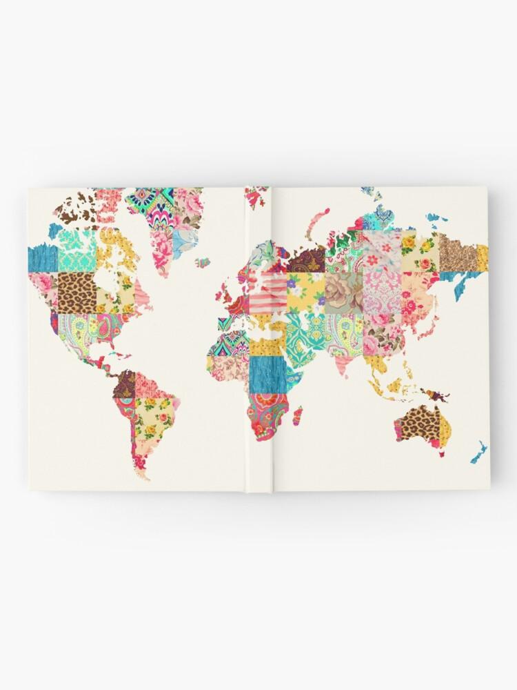 Vista alternativa de Cuaderno de tapa dura Ser un explorador del mundo