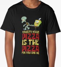 Krusty Krab Pizza - Spongebob Long T-Shirt