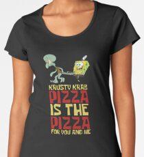 Krusty Krab Pizza - Spongebob Women's Premium T-Shirt