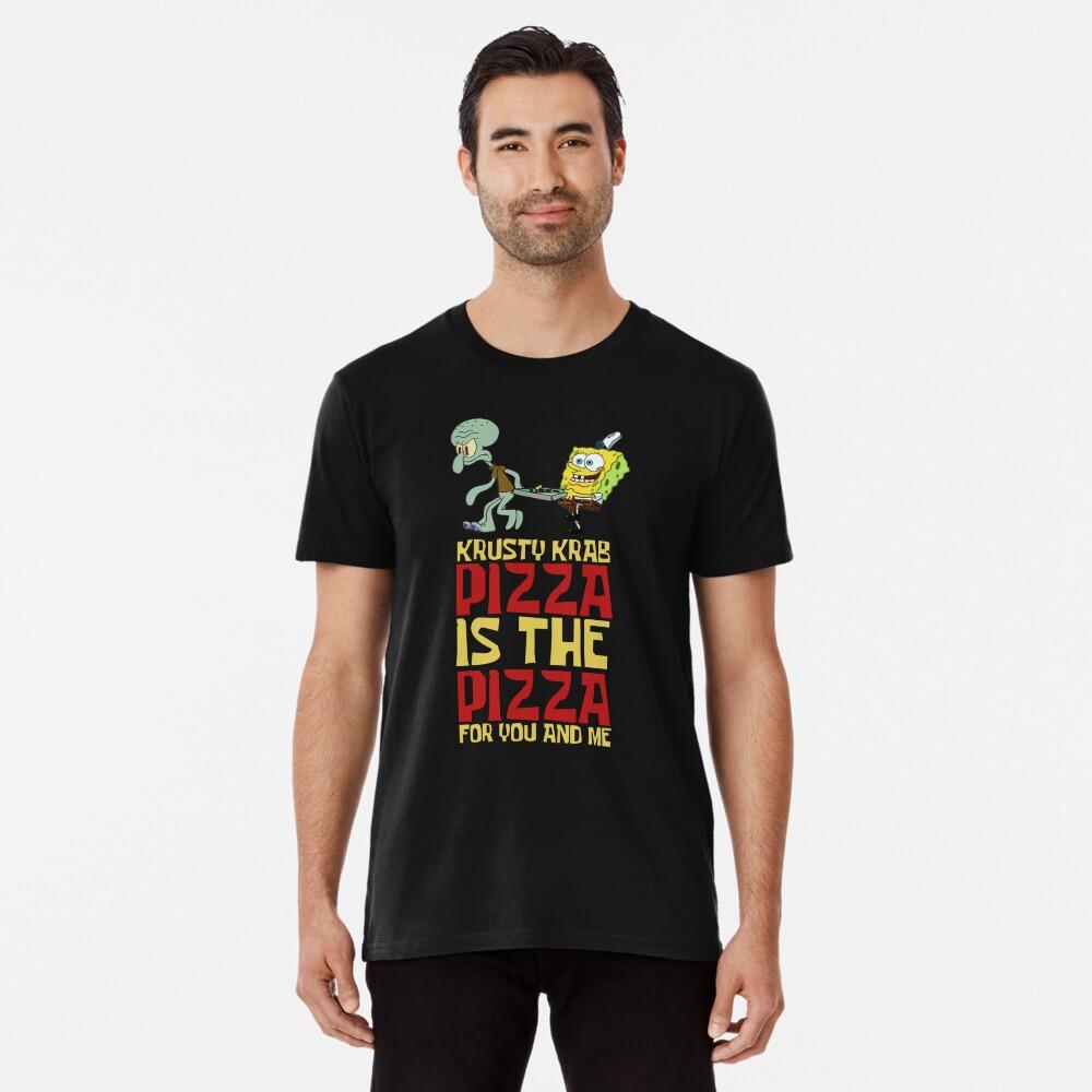Krusty Krab Pizza - Spongebob Premium T-Shirt