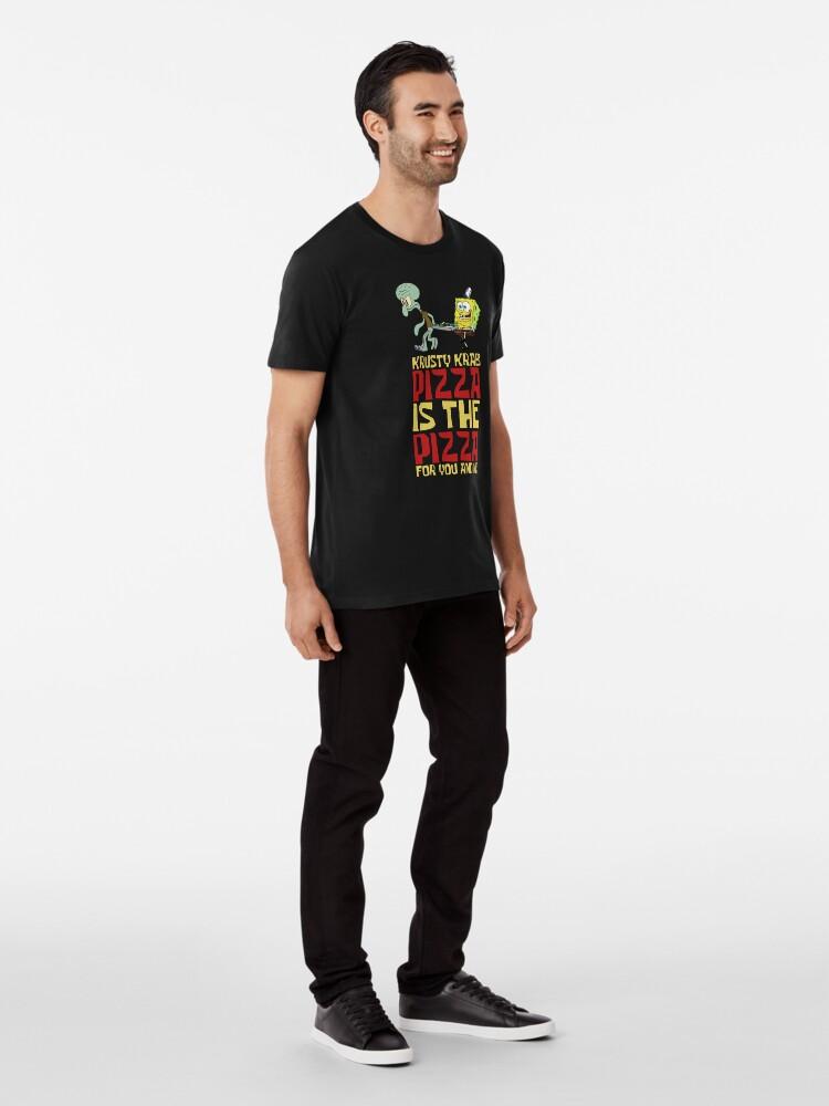 Alternative Ansicht von Krusty Krab Pizza - Spongebob Premium T-Shirt