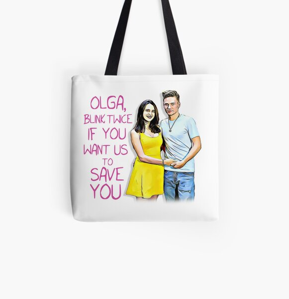90 Day Fiancé - Olga - Blink Twice All Over Print Tote Bag